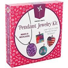 necklace making set images Girls jewelry making necklace kit pinwheel crafts diy jpg