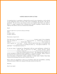 Sample Of Resignation Letters From Jobs 9 Samples Of Resignation Letter With Reason Manager Resume