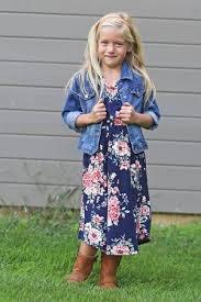 lauren u0027 short sleeve floral modest midi dress for girls u2013 the