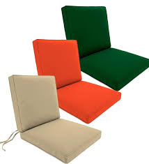 Patio Chair Cushions Sunbrella Endearing Outdoor Cushions Sunbrella Of Appealing 17 X Seat Chair