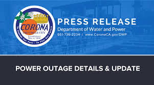 department of water and power city of corona