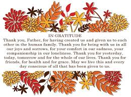 church thanksgiving blessings festival collections
