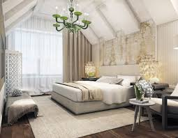 modern attic bedroom interior design ideas