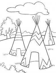native american coloring pages bestofcoloring