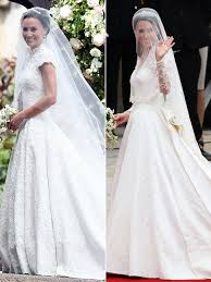 wedding gown here comes the see pippa middleton s stunning wedding gown