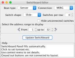 jmri switchboard editor help