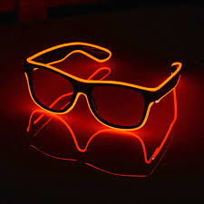 party sunglasses with lights led light party glasses genius products