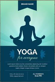 new yoga brochure templates free software game us