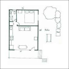 1 room cabin floor plans floor plan ranch garage micro ground use less under house drawing