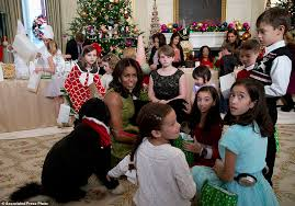 michelle obama unveils record breaking white house christmas