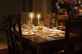 Dining Table Candles Dinner Table With Candles Free Photo Foodie Factor