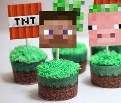 minecraft cupcake ideas minecraft cupcakes goodtoknow birthday party ideas