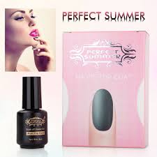 amazon com perfect summer matte top coat gel nail polish uv