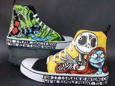 nightmare before shoes skellington laceless