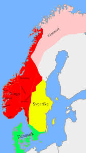 Viking Map Norway 1020 Ad Unified Norway During The Reign Of Saint Olav Ca