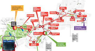 Road Map Of Mexico by Map Of Mexico City Tourist Attractions Sightseeing U0026 Tourist Tour