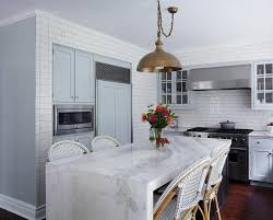 marble kitchen islands white marble kitchen island awesome white marble waterfall