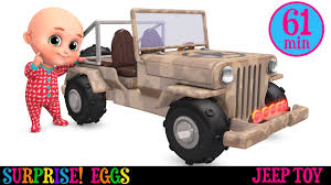 happy birthday jeep images police jeep toys car toys videos surprise eggs unboxing