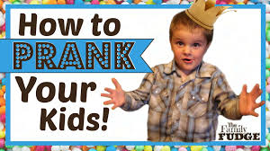 prank your kids april fools day ideas youtube