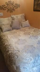 Mainstay Comforter Sets Mainstays 7 Piece Damask Bedding Comforter Set Walmart Com