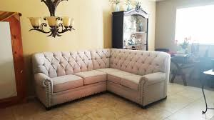 Tufted Sectionals Sofas by Modern Orange Custom Made Sectional We Make Custom Size Sofas
