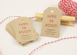 bridal shower favor tags favor tags bridal shower black and white striped favor tag with