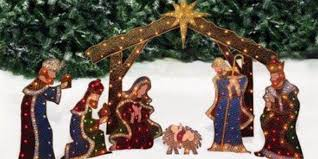 lighted outdoor nativity ultimate guide to different types of outdoor nativity sets