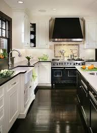 Small Kitchen With White Cabinets Best 25 Black White Kitchens Ideas On Pinterest Modern Kitchen