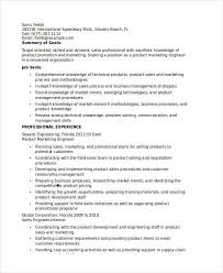 Marketing Resume Sample by Product Marketing Engineer Resume Marketing Resume Samples For