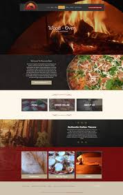10 awesome restaurant website design templates for 2017