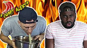 Challenge Vomit Chilli Pepper Nhl Challenge Vomit Alert