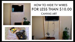concealing wires for home theater hide tv wires for less than 10 youtube