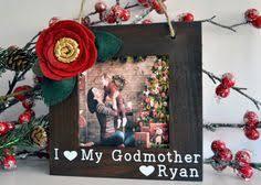 christmas ornament for godmother christmas gift for godmother