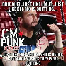 Cm Punk Meme - cm punk memes on twitter pipebomb ok ok the brie one is a work