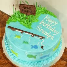 bass fish cake fishing cake bass fishing birthday fishing