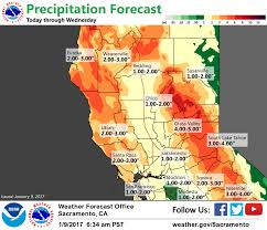 California Weather Map Daily Digest Monster Storm Brings Widespread Flooding Across