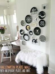 Reproduction Vintage Halloween Decorations by Diy Halloween Paper Plates Free Templates Halloween Plate Wall