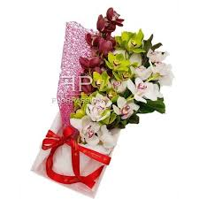 local florist delivery orchids box flowers delivery milan local florist