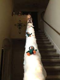 Christmas Railing Decorations Fun Ways To Decorate Stairs For Christmas Crafty Morning