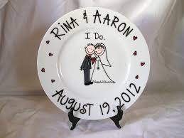 and groom plates ombre tree leaves effect on this large oval plate platter ideas