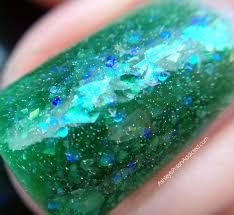 blue green opal ashley is polishaddicted darling diva polish opal collection
