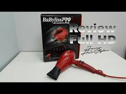 babyliss pro volare hair dryer blower babylisspro volare motor review