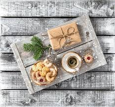 christmas breakfast cookie coffee by liligraphie on