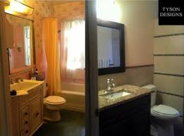 Small Bathroom Makeover by Small Bathroom Makeovers Bathroom Traditional With Baseboard Beige
