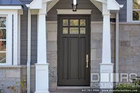 Custom Fiberglass Doors Exterior Classic Collection 3 Panel Door Technology Clear Beveled