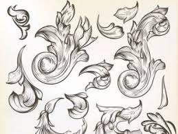 floral ornaments designs free vector free vectors ui