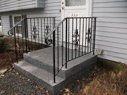 exterior wrought iron stair railing kits n51 verambelles
