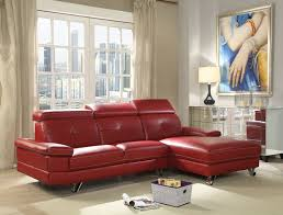Faux Leather Sectional Sofa With Chaise Acme 52040 Aeryn Faux Leather Sectional Sofa With Chaise