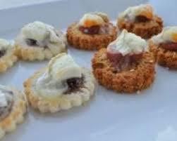 recette de canapé avec de mie recette toasts chorizo chèvre miel