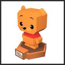 winnie pooh free paper toy download